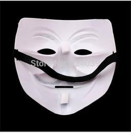 $enCountryForm.capitalKeyWord UK - Wholesale-2015 hot V mask for Vendetta Anonymous Guy Fawkes Mask Halloween Cosplay Free Shiping 50pcs lot