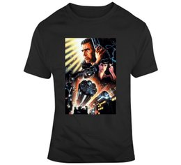 blade fans UK - Blade Runner Movie Poster Fan T Shirt Men Brand Clothihng Top Quality Fashion Mens T Shirt 100%Cotton