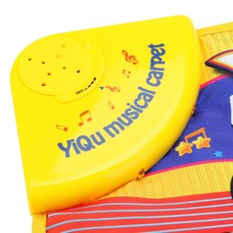 Chinese  YIQU Baby toys Musical Touch Keyboard Singing Carpet Mat Funny Animal Piano Toy-MUSIC manufacturers
