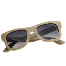 SunglaSSeS man polariSed online shopping - BEDATE G012A Polarised Wooden Sunglasses Wood Frame Sunglasses with UV Blocking Polarized Lens Multicolor