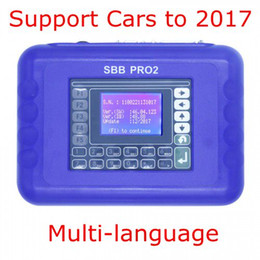 car keys renault Australia - 2018 New Arrival V48.88 SBB Pro2 Key Programmer Support Cars to 2017 Replace SBB 46.02 Multi-Language SBB Key Tool High Quality