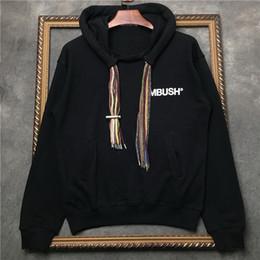 New ambush designer hoodie mens moda colorata pigtail cappello corda uomo s  hip hop maglione con cappuccio di lusso abbigliamento maschile fa1bf94907fa