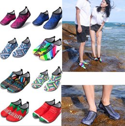 e2f122133072 Diving Beach Shoes Non-slip Barefoot Water Sports Skin Shoes Aqua Socks  Adults Swimming Surfing Yoga Exercise shoes KKA5546