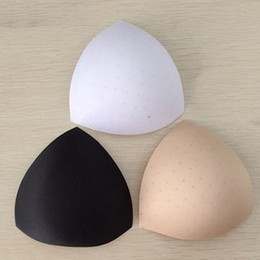 798261d9e05b0 Bra Padding Inserts Australia - 1 Pair Women Triangular Thick Sponge Chest Bra  Pads Inserts Breast