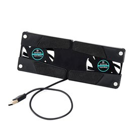 $enCountryForm.capitalKeyWord NZ - NOYOKERE Rotatable USB Fan Laptop Notebook PC 2 Fans Cooler Cooling Pad Computer Peripherals Black