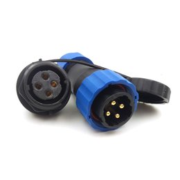 $enCountryForm.capitalKeyWord NZ - SD20 4pin Waterproof Power Cable Connector, 25A 250V High Voltage Electronic Aviation Connectors, IP68 Outdoor LED Connector Plug Socket