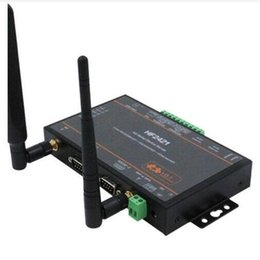 $enCountryForm.capitalKeyWord NZ - Wifi module Double Port Serial Device Server RS232 RS485 RS422 to Ethernet Wifi 4G 3G GPRS Network Converter IoT NEW