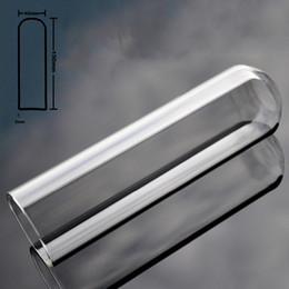Ingrosso 40mm hollow pyrex vetro artificiale pene grande anale dildo butt plug cristallo falso cazzo masturbazione giocattolo adulto del sesso per le donne uomini gay Y18102305