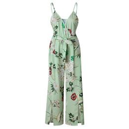 $enCountryForm.capitalKeyWord UK - rompers womens jumpsuit plus size combinaison pantalon summer floral romper long jumpsuits one piece pants split overalls 0903.
