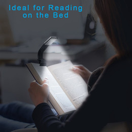 beds china 2019 - Clip Reading Light Tough Brightness LED Book Light Rechargeable Reading Lamp With 4 Level Dimmable Desk & Bed Lamp for B