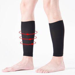 f6bdfbddc6 Unisex Lady Medical Support Leg Shin Socks Varicose Veins Calf Sleeve Compression  Brace Wrap Hot Men socks
