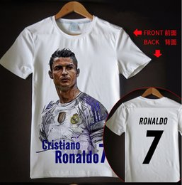 26c7f2b2f New arrival t shirt men women Cristiano Ronaldo 3D printed T-shirts casual  Harajuku style summer tops RH52