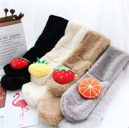 $enCountryForm.capitalKeyWord NZ - Winter cute Children Scarf Boy Girls Scarves Baby Imitation Rabbit Fur Collar Scarf Neck Warmers