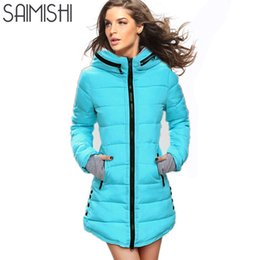 $enCountryForm.capitalKeyWord Canada - Long Parkas Winter Women Fashion Thickening Hooded Winter Jacket Womens Slim Fit Cotton Coat Overcoat Plus Size 13 Colors S18101102