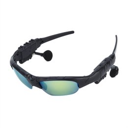Chinese  HBS-368 Sunglasses Bluetooth Headset Outdoor Glasses Earbuds Music with Microphone Stereo Wireless Headphone For iPhone Blue Rainbow color manufacturers