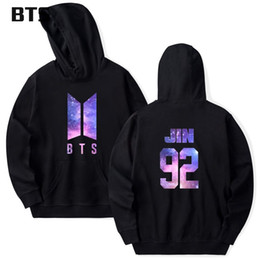 2182a6b884f BTS Starry Sky Bangtan Boys Korean Sweatshirt Women Kawaii Love Yourself  Casual Harajuku Kpop JIMIN Fashion Cute Hoodies Women