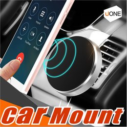 Discount car phone stand stick - Universal In Car Stick Magnetic Dashboard Cell Phone Mount Holder Stand For iphone 8 X Samsung Galaxy s8 s7edge GPS Devi