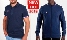 Discount france ships - Hot sales France jersey 2018 19 Presentation Rugby Shirt Rugby Jerseys Jacket France presentation collegiate Navy Jacket