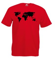 $enCountryForm.capitalKeyWord Canada - MAP OF THE WORLD DETAILED DESIGN GRAPHIC HIGH QUALITY 100% COTTON T SHIRT Funny free shipping Unisex Casual gift
