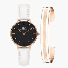 Wholesale Rose Gold New Fashion Classic Bracelet Available for Daniel Wellington Watches Women MM Dress Sports Female Clock Man Wristwatches