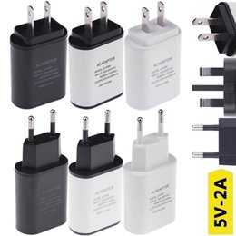 uk eu plug 2019 - Fast Charge 2A Real 12W EU US UK Ac home travel wall charger power adapter plug for iphone 6 7 8 X Samsung s6 s7 s8 note