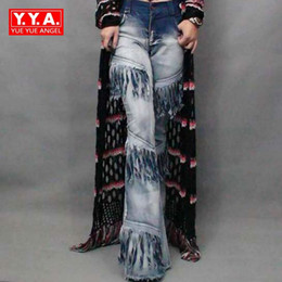 3a592232f4299 Ladies Flared Jeans Canada - 2018 New Fashion Sexy Women s Vintage Chic Bell  Bottoms Denim Female