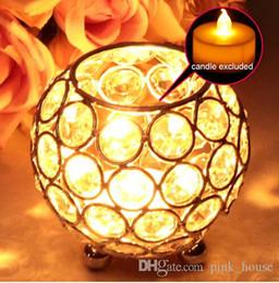 $enCountryForm.capitalKeyWord UK - elegant crystal gold and sliver color Wedding Centerpiece Decoration Candle Holders Votive Tea Light Candle Lantern Table Lamp