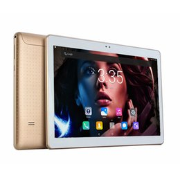 Tablet Ram UK - DHL Free 10 Inch Tablet PC 3G 4G LTE MT8752 Octa Core 4GB RAM 32GB ROM Dual SIM 5.0MP Android 7.0 GPS 1280*800 IPS Tablets 10.1