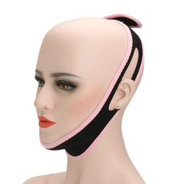 Sleep Slim online shopping - Pro Face Lift Belt Sleeping Face V Shaper Facial Slimming Bandage Relaxation V Line Cheek Chin Face Lift Mask Tin Tool