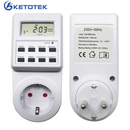 $enCountryForm.capitalKeyWord UK - AC 230V Digital Time Switch Programmable Timer Switch Electronic Timer Socket Outlet with Random Sumer Time Function