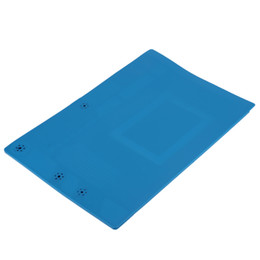 Wholesale 45*30cm Anti Static Mat Silicone Heat Insulation Mat Maintenance Platform with Magnetic Section for Soldering Repair Scale Ruler