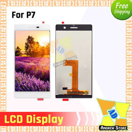 $enCountryForm.capitalKeyWord NZ - 1pc LCD For Huawei P7 P7-L05 P7-L10 LCD Display Touch Screen Digitizer Assembly Replacement free shipping