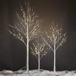 152 led birch tree light christmas decorations home festival party wedding indoor and outdoor use warm white - Used Outdoor Christmas Decorations For Sale