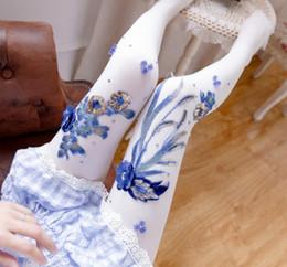 $enCountryForm.capitalKeyWord Canada - New Arrival Autumn Winter Cotton Socks for Women Embroidery flower Design long Tights Korean Casual Sock Female aa632