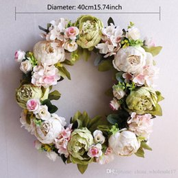Silk flower door wreaths wholesalers australia new featured silk silk flower door wreaths wholesalers australia silk peony artificial flowers wreaths door perfect quality artificial mightylinksfo