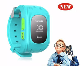 quad band smart watch NZ - Q50 Kids LBS Tracker Smart Watch Phone SIM Quad Band GSM Safe SOS Call PK Q80 Q90 Smartwatch For Android & IOS