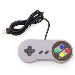 Joystick for pc computer online shopping - USB Controller Gaming Joystick Gamepad Controller for Nintendo SNES Game pad for Windows PC For MAC Computer Control Joystick