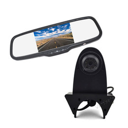 camera mercedes Australia - Vardsafe OE570 |Car Reverse Backup Camera & Rearview Mirror Monitor for Mercedes Sprinter