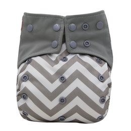 $enCountryForm.capitalKeyWord UK - Ohbabyka Charcoal Bamboo Insert All-in-one AIO Cloth Diaper with Pocket Reusable Baby Diapers Cover Adjustable Baby Nappies