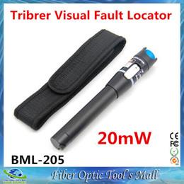 $enCountryForm.capitalKeyWord NZ - 3pcs lot BML-205-20 20mW Fiber Optic Laser Visual Fault Locator 15~17KM Fiber Optic Cable Tester Light Source
