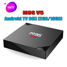 $enCountryForm.capitalKeyWord NZ - M9S V5 Android TV Boxes 2GB 16GB Rockchip RK3229 Quad Core 4K WIFI Bluetooth HDMI media player TV OTT set top box Better T95X T95M T95R