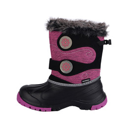 1707f68127c 2018 NEW Kids Winter Snow Boots for Girls Fashion Snow Baby Shoes Beatiful  Girls Waterproof Snow Boots Size 29 -37