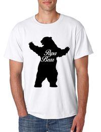 $enCountryForm.capitalKeyWord Australia - 100% Cotton Letter Printed T Shirts Men'S O-Neck Papa Bear Family For Dad Xmas Cute Gift Short Sleeve Best Friend Shirts