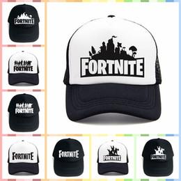 Wholesale sports sun visors online shopping - 14 Colors Fortnite Battle  Royale Baseball Caps Cowboy Trucker 8aec19c3a8e
