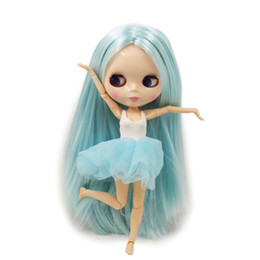 $enCountryForm.capitalKeyWord UK - factory blythe Fortune Days Nude Blyth doll No.BLK6909 Lake Blue hair JOINT body White skin Factory Blyth