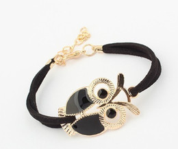 $enCountryForm.capitalKeyWord UK - Sell Goods On A Commission Basis Fashion Restore Ancient Ways Bracelet Owl Manual Bracelet Weave Woolen Yarn For Knitting Hand Decorate Fore