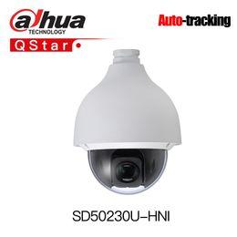 2mp Ip Camera Dome Dahua Australia - Dahua H.265 Auto-tracking PTZ SD50230U-HNI 2MP Starlight 30x PTZ Network Camera High Speed IP Dome Camera IP67 Smart-tracking