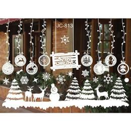 $enCountryForm.capitalKeyWord NZ - DIY Merry Christmas Wall Stickers Decoration Santa Claus Gifts Tree Window Wall Stickers Removable Vinyl Decals Xmas Decor