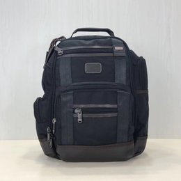 Wholesale Ballistic nylon men s business casual travel backpack laptop IPAD backpack bag tumi