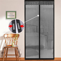 Wholesale Summer Mosquito Net Curtain Screen Magnets Door Mesh Insect Fly Bug Insect Fly Mosquito Door Net Netting Mesh Screen Mesh